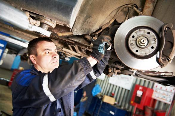 Car Service Reveals 4 Brake Problems